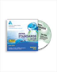 AWWA-40001A 2014 Standards on CD-ROM (2–9 Users)