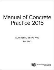 ACI-MCP-7(15) Manual of Concrete Practice Part 7 (2015)