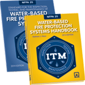 NFPA-25(14)HBK: Standard for the Inspection, Testing, and Maintenance of Water-Based Fire Protection Systems (HANDBOOK)