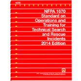 NFPA-1670(14): Standard on Operations and Training for Technical Search and Rescue Incidents