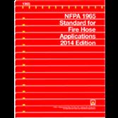 NFPA-1965(14): Standard for Fire Hose Appliances