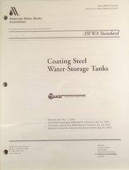 ANSI/AWWA-D102-03 Coating Steel Water-Storage Tanks (Printed Copy)
