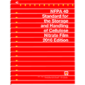 NFPA-40(16) Standard for the Storage and Handling of Cellulose Nitrate Film