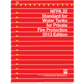NFPA-22(13): Standard for Water Tanks for Private Fire Protection