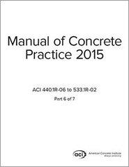 ACI-MCP-6(15) Manual of Concrete Practice Part 6 (2015)
