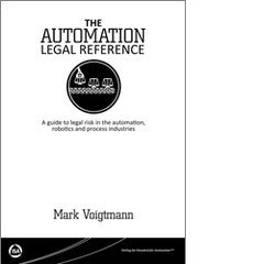 ISA-115938 The Automation Legal Reference: A guide to legal risk in the automation, robotics and process industries