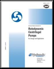 HI-C102 ANSI/HI 1.3-2013 Rotodynamic Centrifugal Pumps for Design and Application