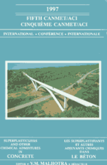 ACI-SP-173 Fifth CANMET/ACI International Conference on Superplasticizers and Other Chemical Admixtures in Concrete