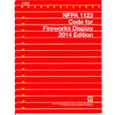 NFPA-1123(14): Code for Fireworks Display