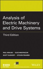 IEEE-02429-4 Analysis of Electric Machinery and Drive Systems, 3rd Edition