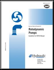 HI-A118 ANSI/HI 9.6.1-2012 Rotodynamic Pumps Guideline for NPSH Margin