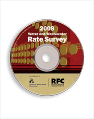 AWWA-54004 2008 Water and Wastewater Rate Survey CD-ROM