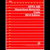 NFPA-400(16): Hazardous Materials Code