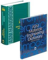 ASM-05315G Materials Selection Handbook and Dictionary Set