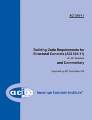 ACI-318-11 Building Code Requirements for Structural Concrete and Commentary (Video Presentation)
