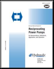 HI-M113 ANSI/HI 6.1-6.5-2000 Reciprocating Pumps