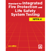 NFPA-4(15) Standard for Integrated Fire Protection and Life Safety System Testing