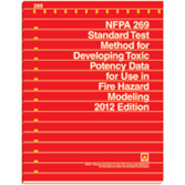 NFPA-269(12): Standard Test Method for Developing Toxic Potency Data for Use in Fire Hazard Modeling