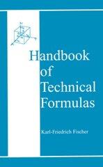 PLASTICS-02486 1999 Handbook of Technical Formulas, (Hanser)