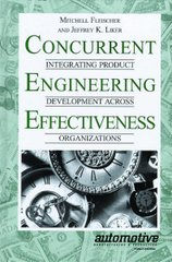 PLASTICS-02318 1997 Concurrent Engineering Effectiveness: Integrating Product Development Across Organizations, (Hanser)