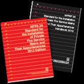 NFPA-24(13)HBK: Installation of Private Fire Service Mains and Their Appurtenances (Handbook)