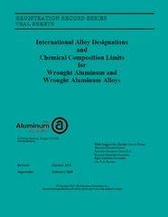 AA-TEAL-1 TEAL SHEETS - Wrought Aluminum