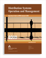 AWWA, Water Distribution, in Print | Engineering Solutions | 190 x 240 png 46kB