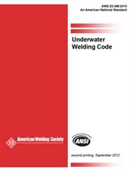 AWS- D3.6M:2010 (ERRATA 2012) Underwater Welding Code
