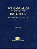 ACI-SP-2(07) Manual of Concrete Inspection, 10th Edition (Video Presentation)