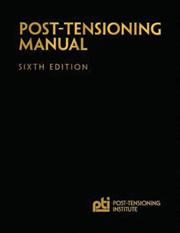 ACI-PTM Post Tensioning Manual - Sixth Edition