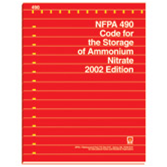 NFPA-490(02): Code for the Storage of Ammonium Nitrate