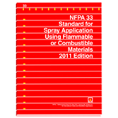 NFPA-33(16): Standard for Spray Application Using Flammable or Combustible Materials