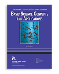AWWA-1959 2010 WSO: Basic Science Concepts and Applications, Fourth Edition