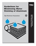 AA-TR-3 Guidelines for Minimizing Water Staining, 2009 (Video Presentation)