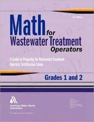 AWWA-15876 Math for Wastewater Treatment Operators, Grades 1 & 2
