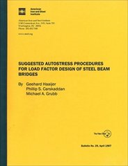 AISI-T-175 Suggested Autostress Procedures For Load Factor Design Of Steel Beam Bridges