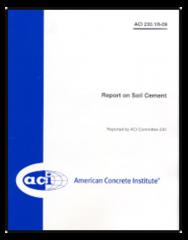 ACI-230.1R-09: Report on Soil Cement