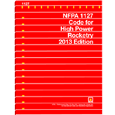 NFPA-1127(13): Code for High Power Rocketry