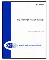 ACI-363R-10 Report on High-Strength Concrete
