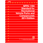 NFPA-1194(14): Standard for Recreational Vehicle Parks and Campgrounds