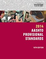 AASHTO-PS-18 Provisional Standards, 2014 Edition