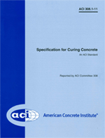 ACI-308.1-11 Specification for Curing Concrete
