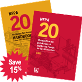 NFPA-20(16) Standard for the Installation of Stationary Pumps for Fire Protection
