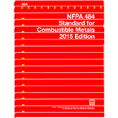 NFPA-484(15): Standard for Combustible Metals
