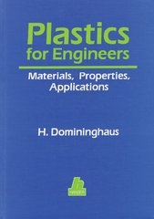 PLASTICS-00116 1993 Plastics for Engineers: Materials, Properties, Applications, (Hanser)