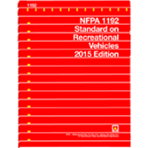 NFPA-1192(15): Standard on Recreational Vehicles