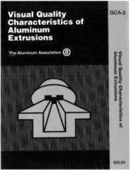 AA-QCA-2HC Visual Quality Charactics of Aluminum Extrusions