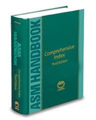 ASM-05332G-INDEX-3E Comprehensive Index to ASM Handbooks, Third Edition