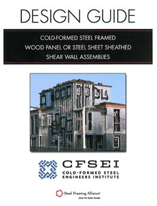 Cold Formed Steel Framed Wood Panel Sheathed Shear Wall
