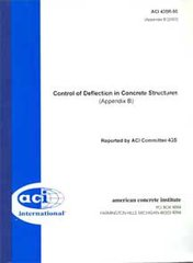 ACI-435R-95 Control of Deflection in Concrete Structures (Reapproved 2000)